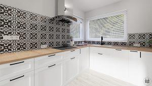 Projekt kuchni IKEA Savedal